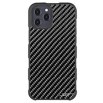 Iphone 12 Pro Max Real Carbon Fiber Case   Armor Series