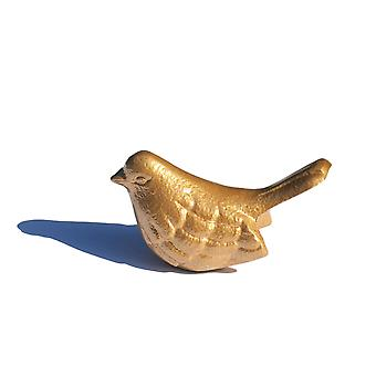 Vibhsa Bird Figurines Symbols Of Health & Happiness (gold)