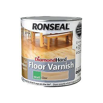 Ronseal Diamond Hard Floor Varnish Matt 2.5 litre 37539