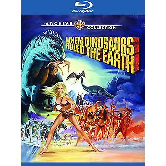 Kun dinosaurukset hallitsivat maata (1970) [Blu-ray] Usa:n tuonti