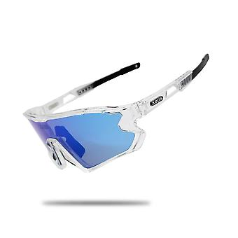 Sonnenbrille Schwarz Photochrome Fahrradbrille