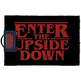 Stranger Things Enter The Upside Down Doormat