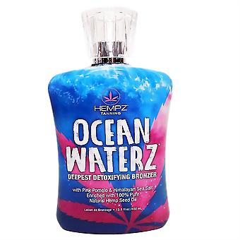 Hempz Ocean Waterz Detoxifying Bronzer Tanning Lotion 400ml