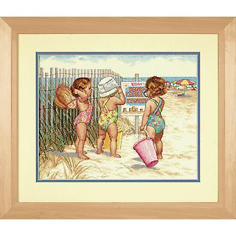 Dimensions Counted Cross Stitch: Beach Babies