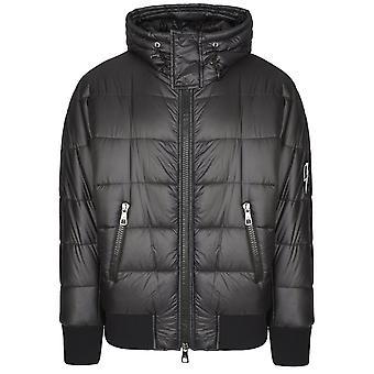 Neil Barrett Hooded Down Black Jacket