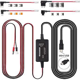 Wokex Dashcam Hardwire Kit Sicherungshalter mit Niederspannungsschutz Auto Ladegerät Kabelsatz für