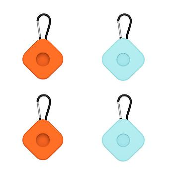 4Pcs for airtags protective case anti lost keychain square ac18