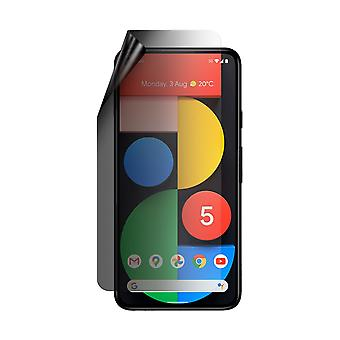 Celicious Privacy Lite 2-Way Anti-Glare Anti-Spy Filter Screen Protector Film Compatible with Google Pixel 5