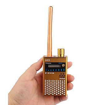Bezdrôtový detektor signálu Tracker signál počúvanie Anti Spy detektor zariadenia pre odpočúvanie Pinhole G319 Listen Finder device (čierna)