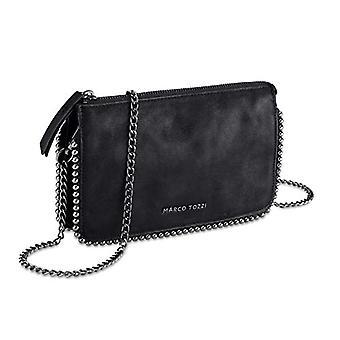 MARCO TOZZI 2-2-61009-25, 2-2-61009-25-Women's Bag, Metallic Black, 1 EU