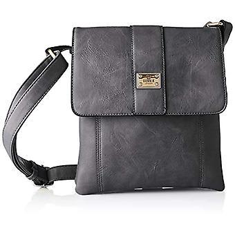 Bessie London, Women's Crossbody Handbag, Black, One Size(1)