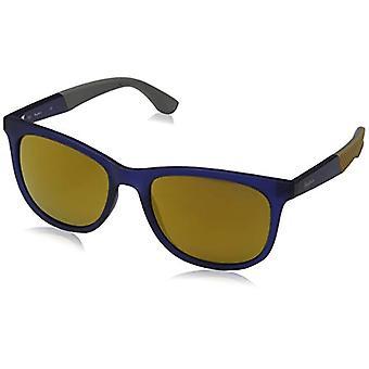 Pepe Jeans Sunglasses Damon, Unisex-Adult Sunglasses, Blue (Navy/Brown), 54.0