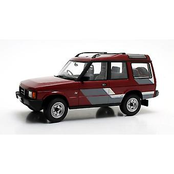 Land Rover Discovery MkI (1989) in Metallic Red (1:18 scale by Cult Scale Models CML081-1)