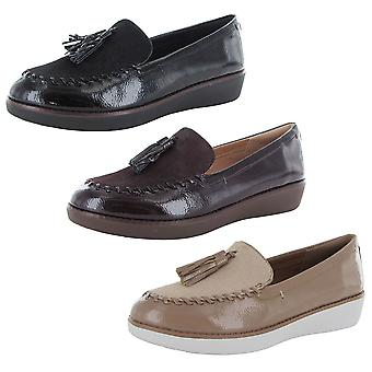 Fitflop Donna Paige Finto Pony Moccasin Loafer Scarpe