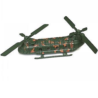 Uusi toisen maailmansodan armeijan Chinook-lelusarja Kaksi potkuria Battlefield Figures ES12786