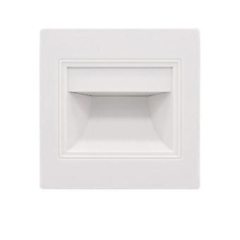 Gerui LED induction embedded corner step light(White)