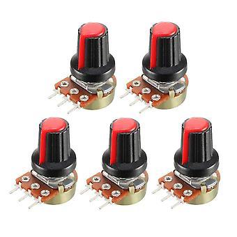 Piros forgókapcsoló gomb kupak készlet