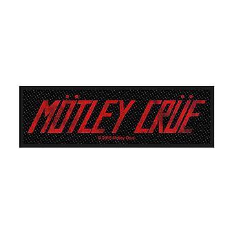 Motley Crue - Logo Standard Patch