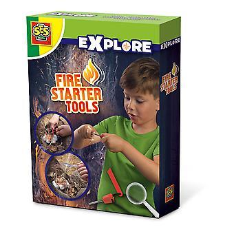 SES Creative - Barn utforska fire starter tools (flerfärg)