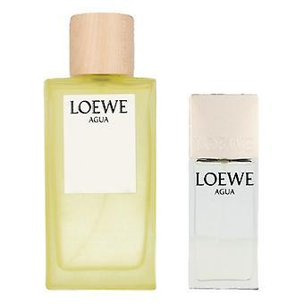 Unisex' Perfume Set Agua Loewe EDT (2 pcs)