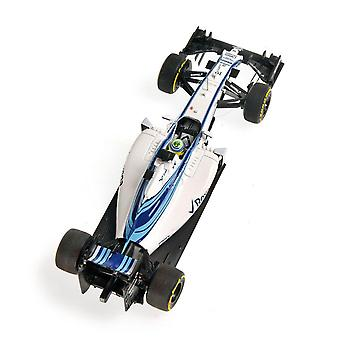 Minichamps 417150119 Williams FW37 F Massa  Abu Dhabi 15 Martini