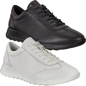 ECCO Womens Flexure Runner Leather Outdoor Trail Trainers Sneakers Shoes