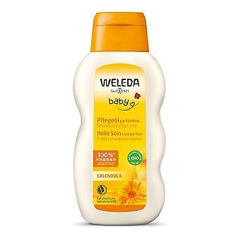 Huile corporelle pour enfants et bébés Baby Weleda Souci (200 ml)