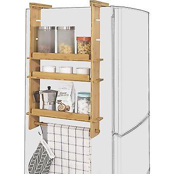 SoBuy ajustable cocina especia tarros colgando de almacenamiento estantes estante KCR03-N