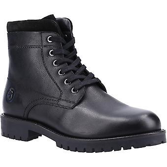Cotswold Mens Thorsbury Lace Up Cuir Combat Shoe Bottes