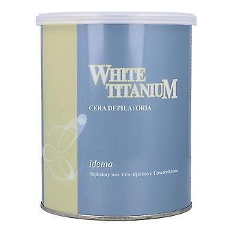 Kroppshårborttagning Vax Idema Kan Titanium Vit (800 ml)