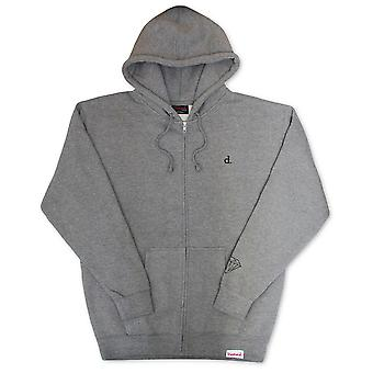 Diamond Supply Co Mini Un Polo Zip Hoodie Gris