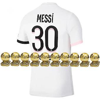 2021-2022 Messi Psg Away Jersey No. 30 Children Size(24)