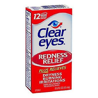 Egyértelmű szemek vörösség Relief szem csepp 3 Pack