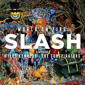 Slash / Kennedy, Myles & the Conspirators - World on Fire [CD] USA import