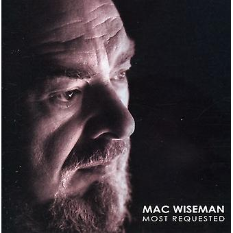 Mac Wiseman - Most Requested: Mac Wiseman [CD] USA import