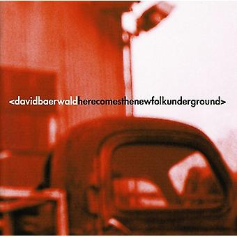 David Baerwald - Here Comes the New Folk Underground [CD] USA import