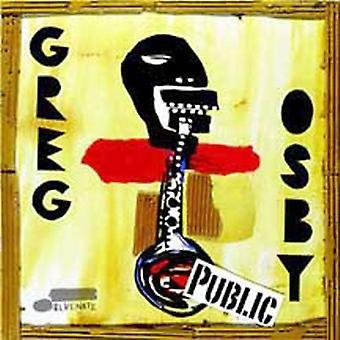 Greg Osby - Public [CD] USA import