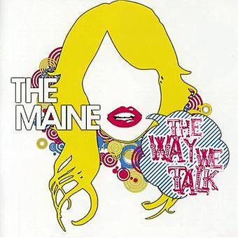 Maine - Way We Talk EP [CD] USA import