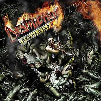 Destruction - D.E.V.O.L.U.T.I.O.N. [CD] Yhdysvallat tuoda