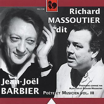 Jean-Joel Barbier - Richard Massoutier Dit Jean-Jo L Barbier [CD] USA import