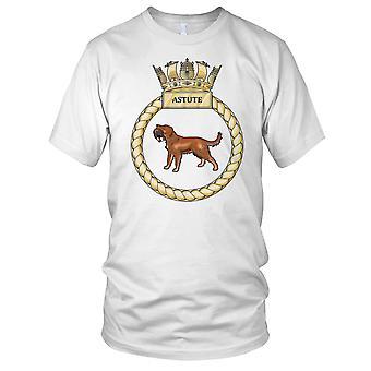 Royal Navy HMS gløgg Kids T skjorte