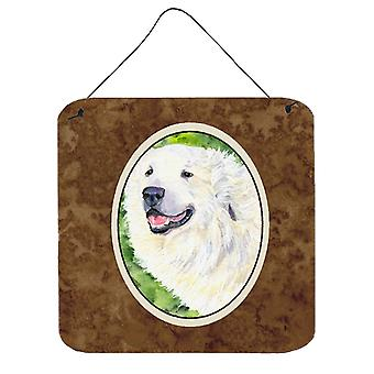 Carolines Treasures  SS8981DS66 Great Pyrenees Aluminium Metal Wall or Door Hang