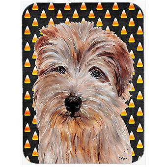 Norfolk Terrier kukurydzy Candy Halloween myszy, podkładki, podkładka lub trójnóg