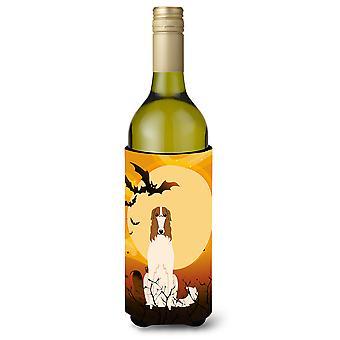 Botella de vino Beverge aislador Hugger de Halloween Borzoi