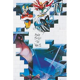 Pink Floyd The Wall Album The Wall Album Art Poster Poster Print