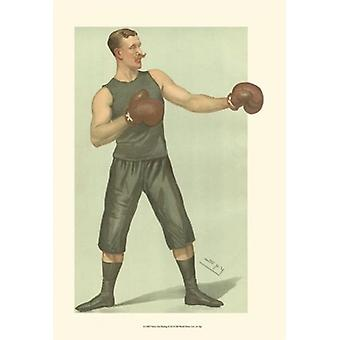 Vanity Fair Boxing Poster Print by Spy (13 x 19)