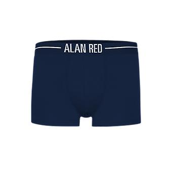 Alan Red Short Boxer ( 7013) Navy ( two pack)