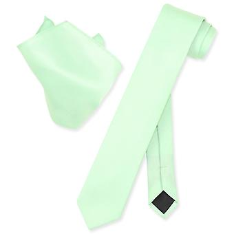 """Набор галстук платок мужской галстук тощий Везувио Наполи 2,5"""""""