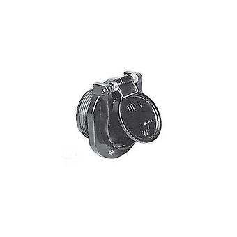 "Waterway 600-2207 1.5"" MPT Vac Lock Fitting - Gray"