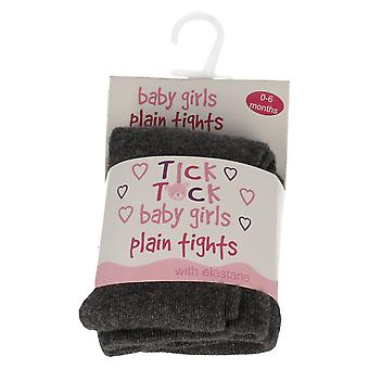 Collants bébé filles Tick Tock plaine